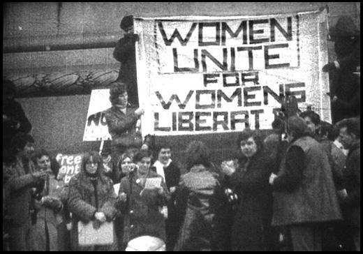 """미국 여성 운동 """"Women Unite For Womens Liberat.."""""""