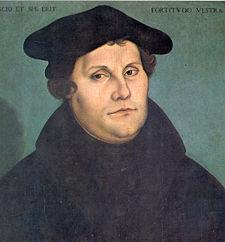 Protestant Reformer Martin Luther