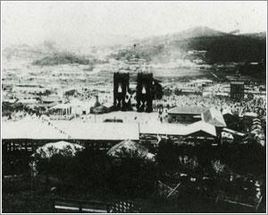 1900년 11월 12일 남대문역에서 열린 경인선 개통식