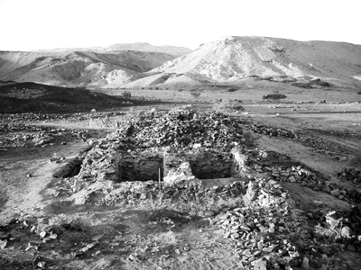 AP Photo/Biblical Archaeology Review by Thomas E. Levy